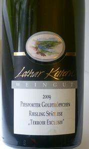 Lothar Kettern Riesling Terroir Exclusiv