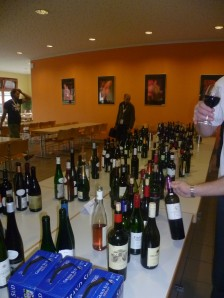 Soziale Weinverkostung